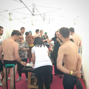 London Pride 2016: Body Painting