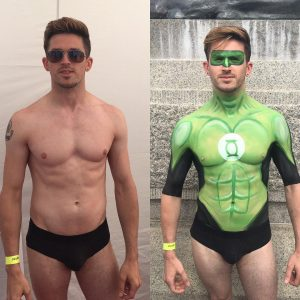 London Pride 2016: Adam Before and After
