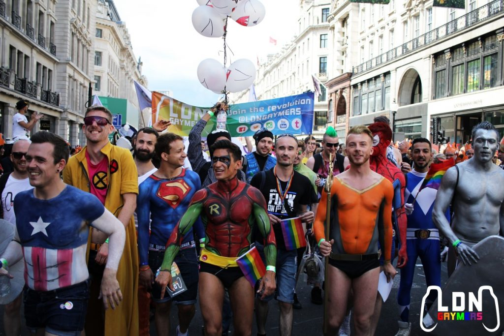 London Pride 2016: The Parade