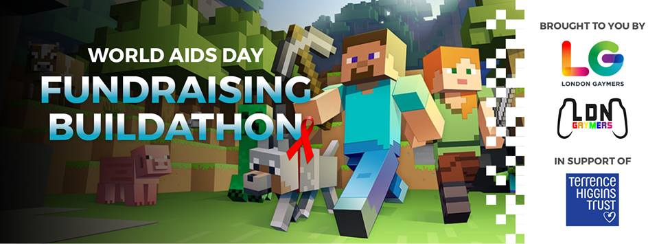 World Aids Day - Fundraising Buildathon