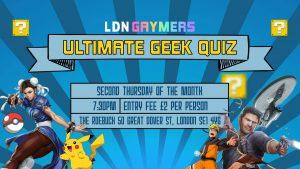 Ultimate Geek Quiz