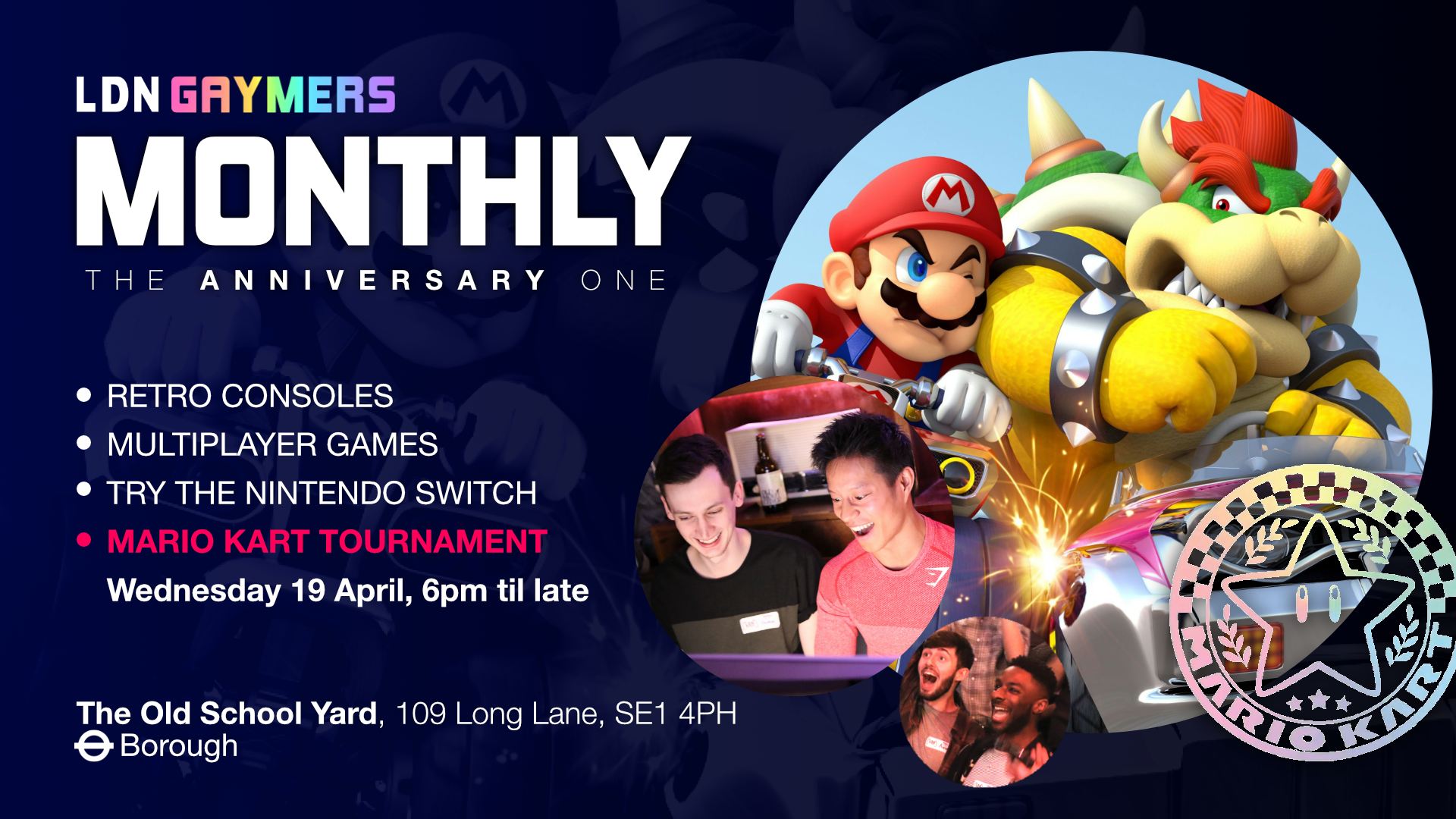 LDN Gaymers Monthly: The Anniversary One