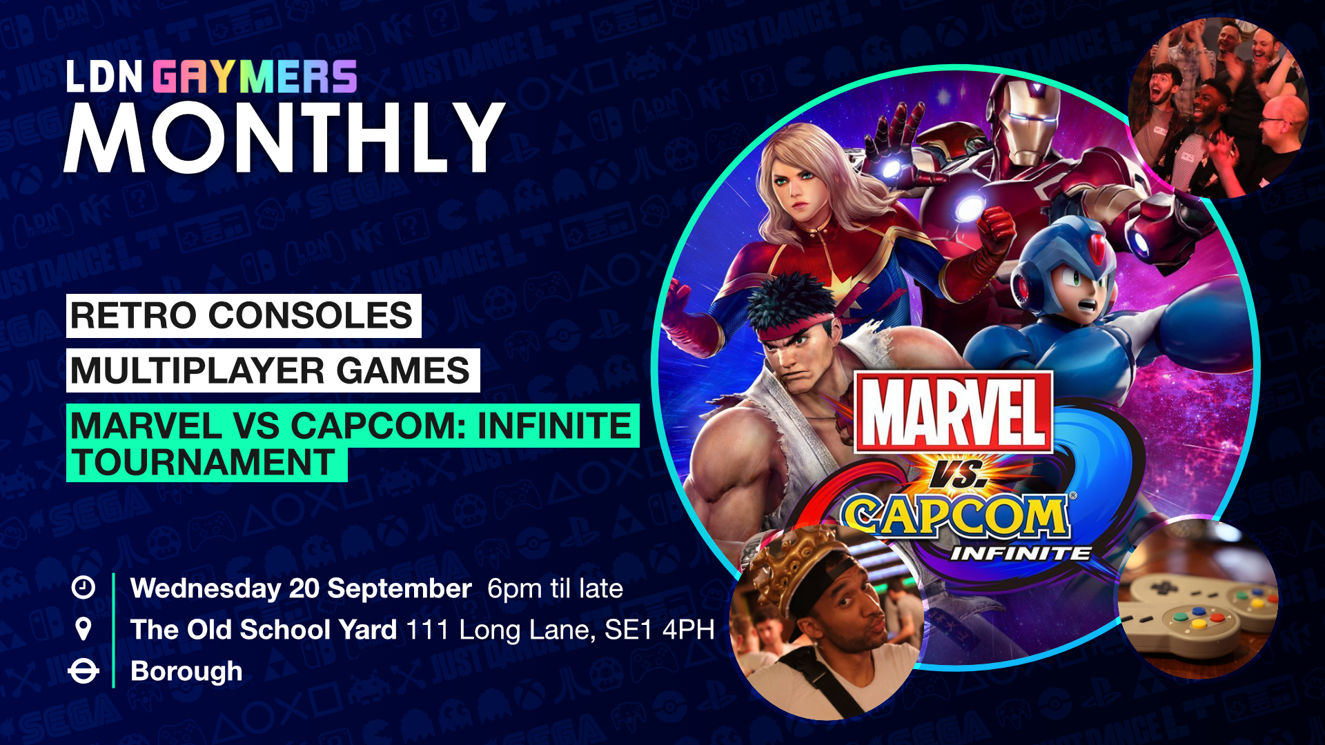 LDN Gaymers Monthly: The Infinite One