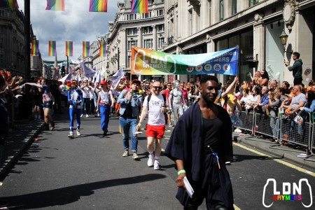 LDNGaymers at London Pride 2016