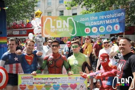 LDNGaymers at London Pride 2016